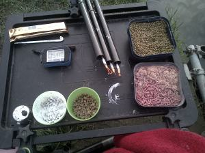 winter bait table