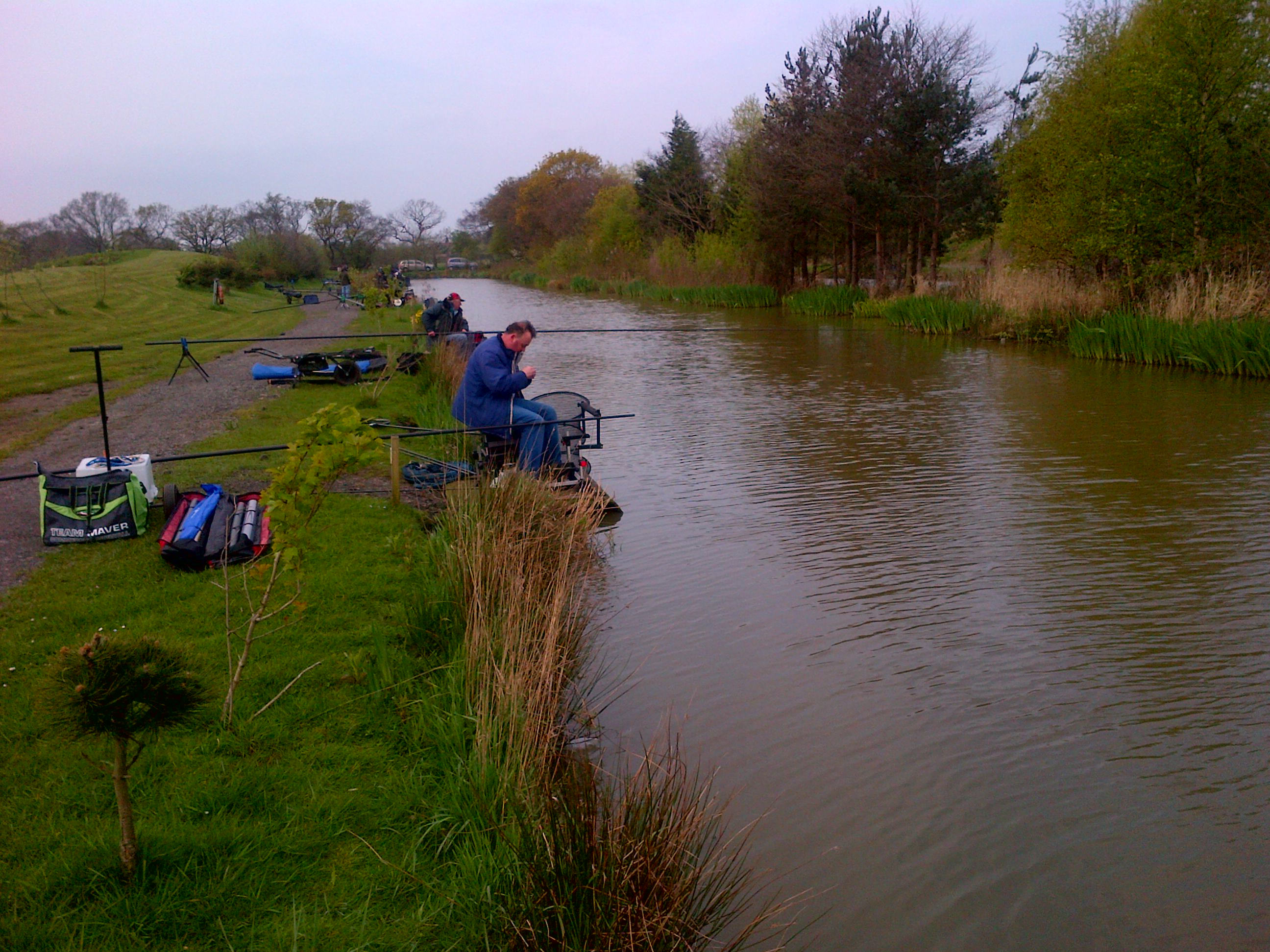 the oaks fishery sessay The fishery reports having had people leave early because they are so  the  latest big waters ac awayday at the oaks lakes, sessay, was.